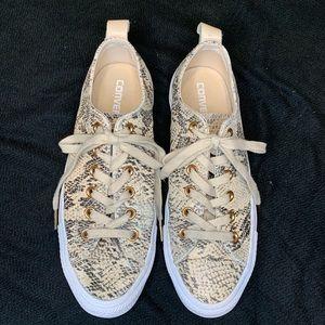 Converse All Star CT Snakeskin Loop Ox Sneakers